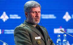 שר ההגנה האיראני, אמיר חתאמי // צילום: איי.אף.פי