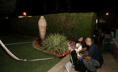רימון הושלך על ביתו של ראש העיר // צילום: יהודה פרץ