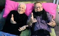 """מושונוב ובראבא בחזרות ל""""הקומיקאים"""""""
