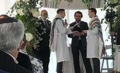 החתונה של נדיב שורר ואריאל מאירי // צילום: באדיבות הרב אברם מלוטק