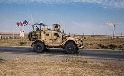 fכלי רכב צבאי אמריקני בסוריה // צילום: איי.פי