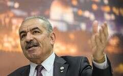ראש הממשלה הפלשתיני, מוחמד א-שתייה // צילום: איי.פי