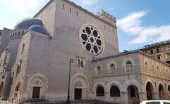 בית כנסת בדרום איטליה // צילום: אריאל בולשטיין