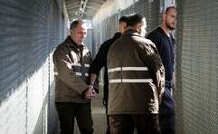 אסירים ביטחוניים // צילום ארכיון: אורן בן חקון