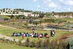 פארק אריאל שרון. במהלך חודשי הקיץ יתקיימו כאן אירועים לכל המשפחה