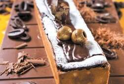 עוגת סופלה שוקולד.  הסוד טמון בזמן האפייה