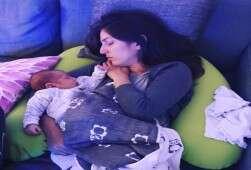 הרגע הכי שלו, כשהם ישנים