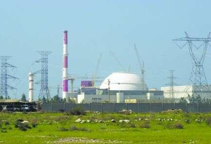 הכור הגרעיני בבושהר (אילוסטרציה). המדינה לא חרגה מכמות האורניום המותרת לה