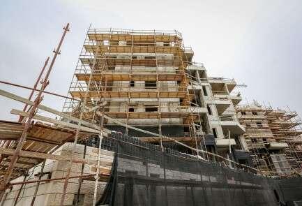 אתר בנייה בבית שמש