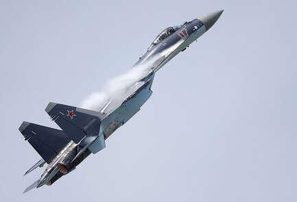 מטוס ה-SU-35 // צילום: רויטרס