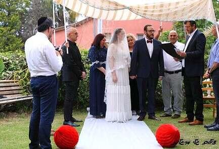 חתונה ביתית עדי וגל