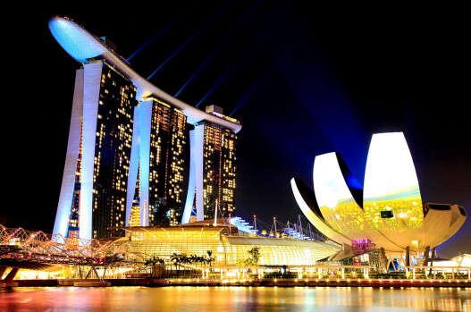 """מלון """"מארינה ביי סנדס"""" בסינגפור  //  צילום: רויטרס"""