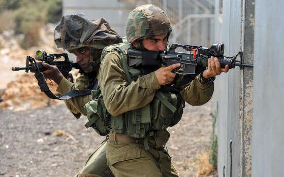 """""""עם ישראל סומך עלינו""""  //  צילום: דובר צה""""ל"""