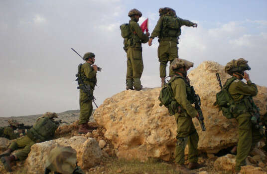 """לוחמי גדוד חרוב // צילום ארכיון: דובר צה""""ל"""