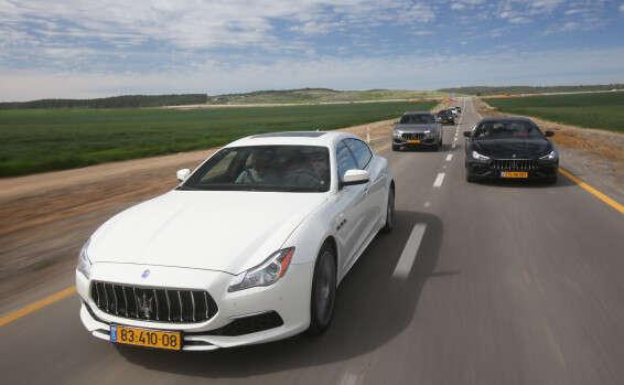 מותג חדש מזראטי היום: בילינו יום עם צי מכוניות הספורט עילית | ישראל היום RX-13