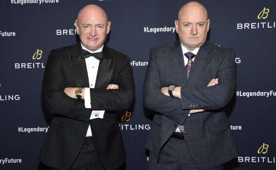 התאומים מארק וסקוט (מימין) קלי // צילום: AP