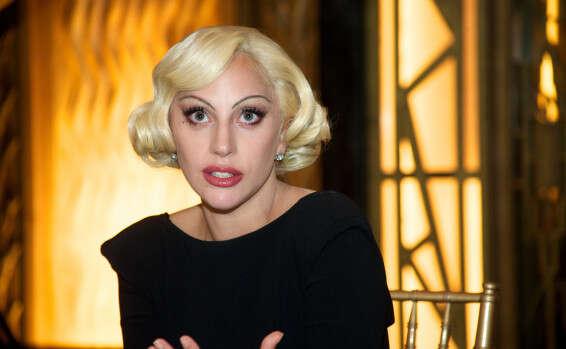 ליידי גאגא, לבושה יותר // צילום: getty images