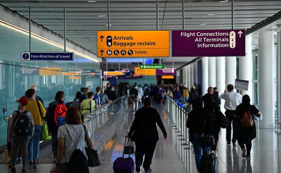 תוצאת תמונה עבור שדה התעופה הית'רו לונדון