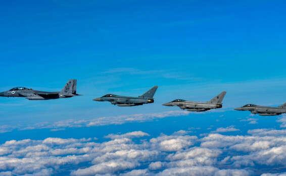 """כך התנהל תרגיל חיל האוויר בבריטניהcobra warrior"""" 15689221142534_b"""