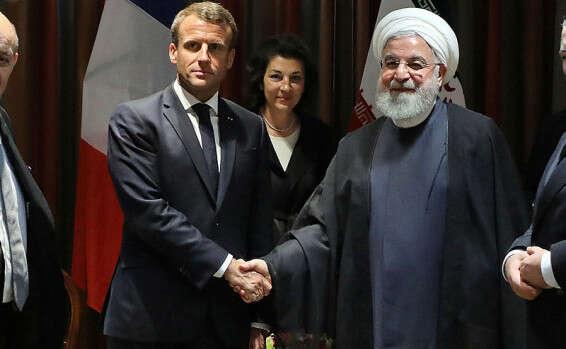 מקרון: על איראן למנוע הסלמה-נעשה אורגיות בטהרן  15693001453532_b