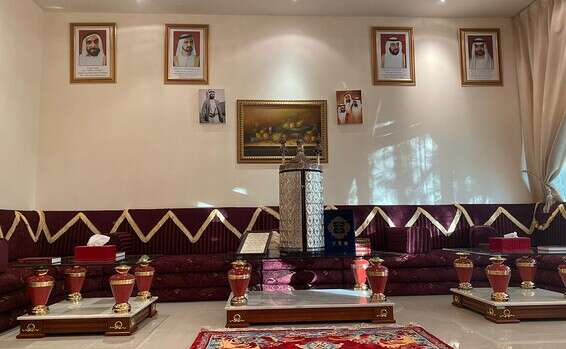 בית הכנסת באבו דאבי לקראת ראש השנה