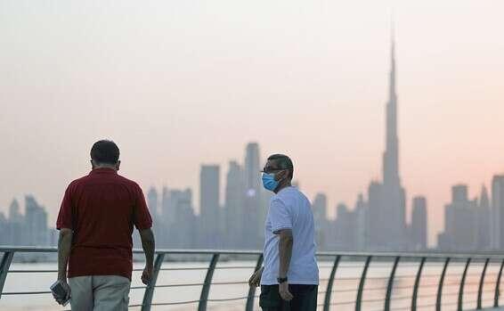 קו הרקיע של דובאי // צילום: EPA