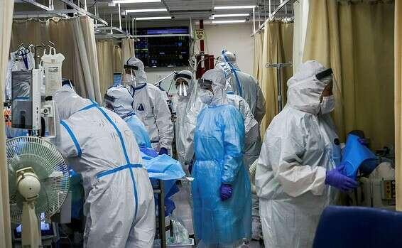 Département Corona de l'hôpital Shaare Zedek // Photo: Oren Ben Hakon