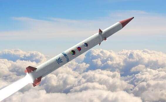 """Simulation """"Arrow 4"""" // Photo: Ministère de la Défense et IAI"""