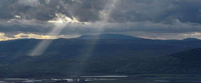 שמיים מעוננים // צילום: אייל מרגולין - ג׳יני