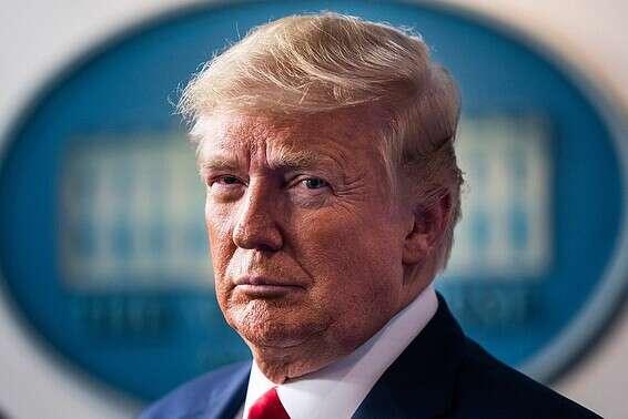 """""""לא להפוך את הפתרון לגרוע מהמחלה"""", הנשיא טראמפ // צילום: אי.פי.איי"""