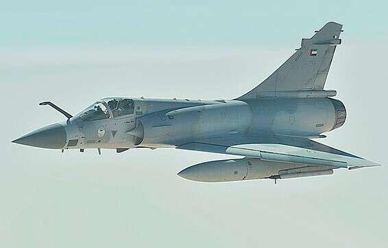 Avion Mirage Air Force // Photo: Wikipedia