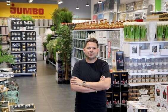 """CEO""""To the D'Mbo Stock network, Ido Nono // Photo: Igor Osadchi"""