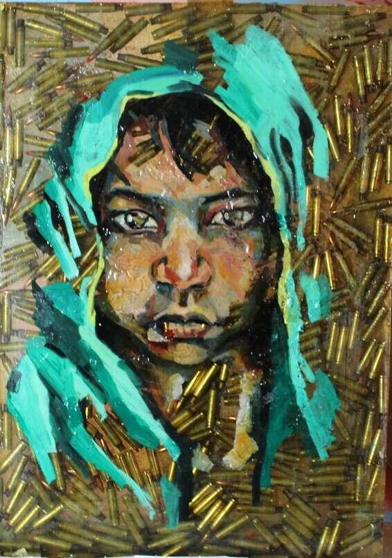 Une peinture d'Eitan Amram