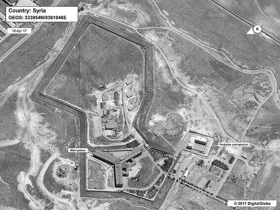 Des dizaines de milliers de personnes disparues, prison de Sadanya en Syrie // Photo: AFP