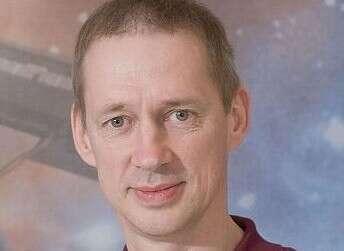 האסטרונאוט הבלגי פרנק דה ווין (צילום - דוברות משרד המדע)