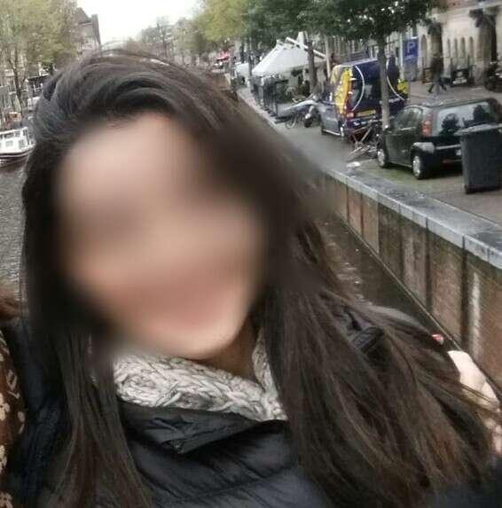 La femme qui a été agressée à Mitzpe Ramon // Photo: Facebook