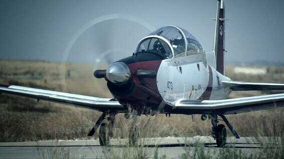 Avion T-6 // Photo: Elbit Systems