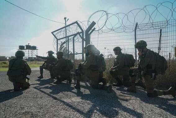 Combattants pendant l'activité pour neutraliser l'arène // Photo: porte-parole de Tsahal