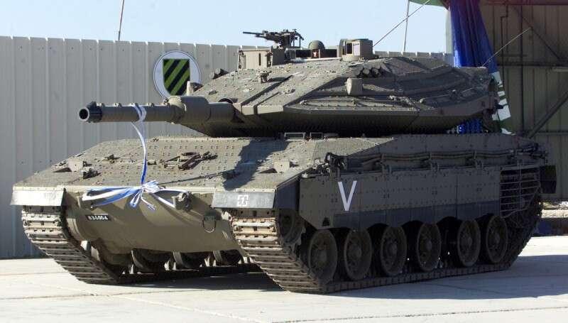 5 הטנקים הקטלניים בעולם המרכבה במקום ה 4 RTR6S1V