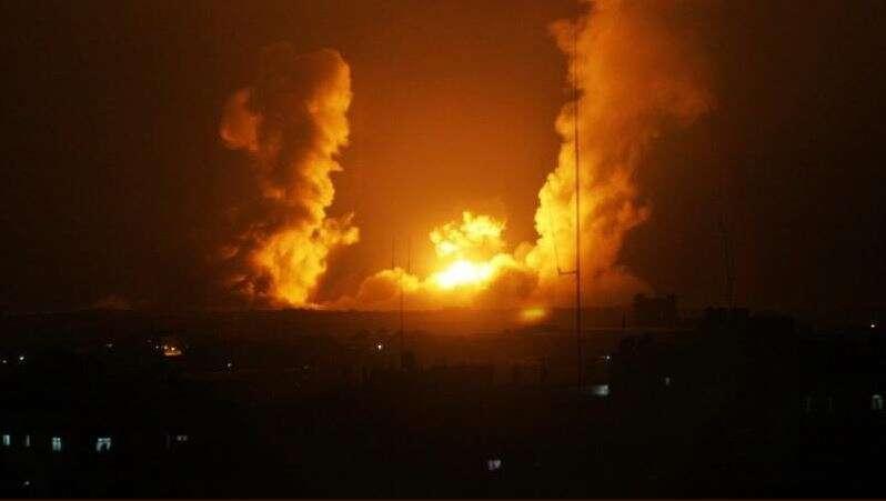 """דיווח: תקיפה ישראלית בסוריה - מערכות נ""""מ ירו לעבר כלי הטיס JURFHFH"""