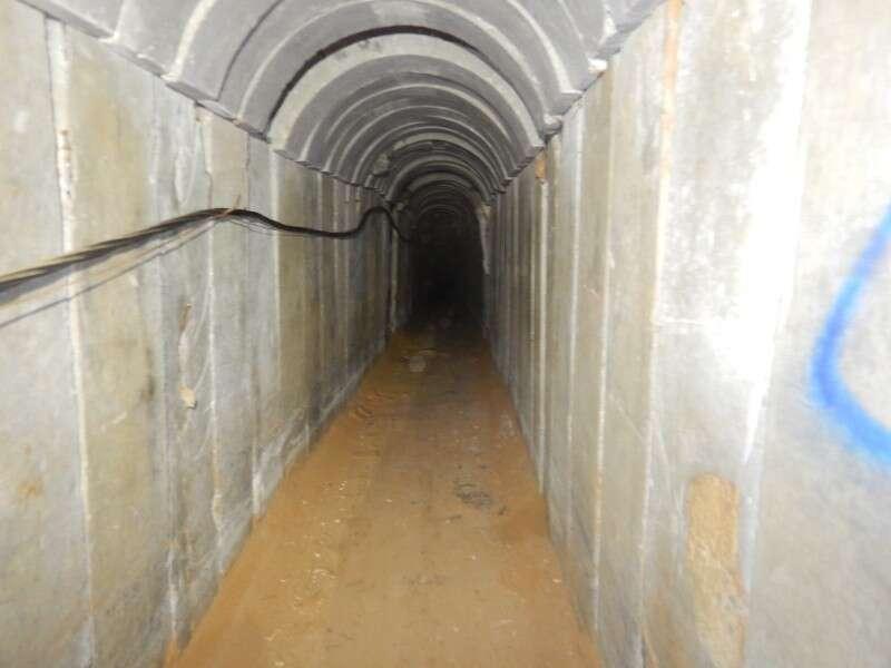 40 מטרים בשטח ישראל: אותרה מנהרת טרור שחצתה את הגבול מול מטולה Dotz%20tunnel