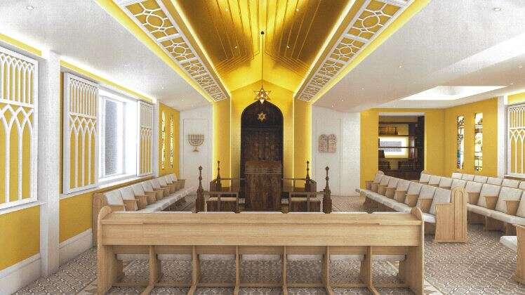 בית כנסת ומקווה מוזהבים: מרכז קהילתי יהודי ראשון הוקם בטייוואן