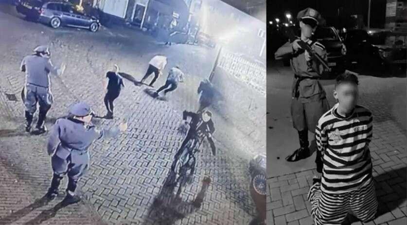 """חלחלה בהולנד: צעירים לבשו מדים נאציים ו""""ירו"""" ב""""יהודי"""""""