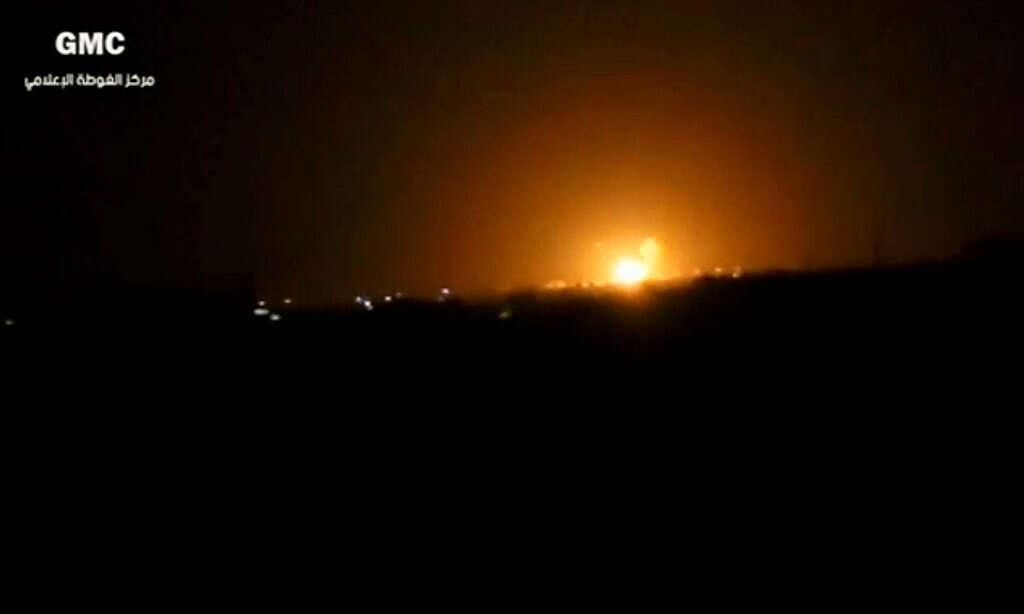 דיווח בסוריה: תקיפה אווירית על מיליציות פרו איראניות
