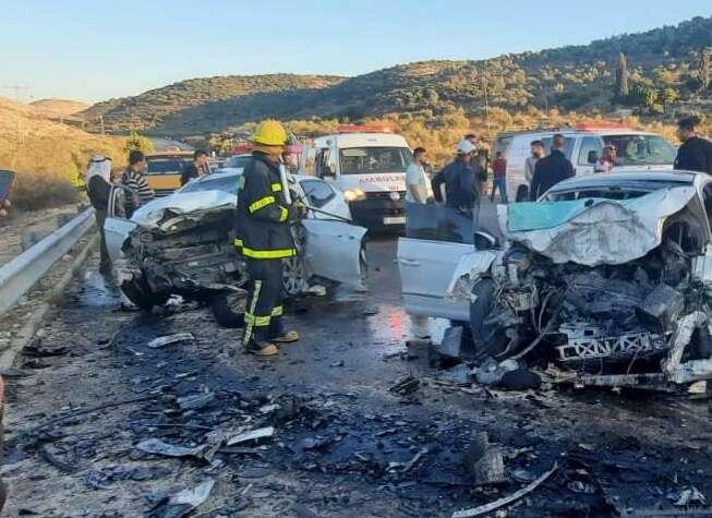 תאונה קטלנית בשומרון: הרוג ושלושה פצועים בהתנגשות